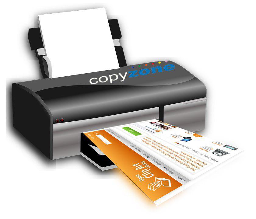 Printare color portofoliu Copyzone