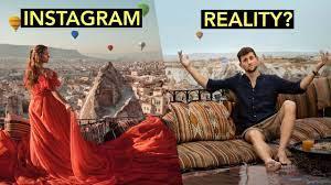 Instagram vs Realitate in materie de calatorit